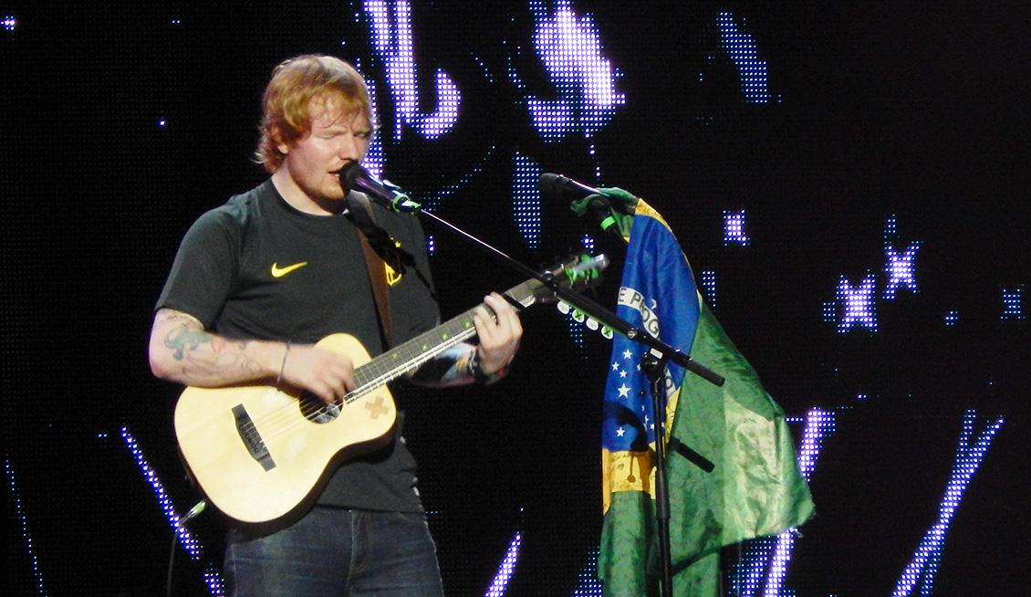 Ed Sheeran / Antonio Lulic – São Paulo. Pt I.