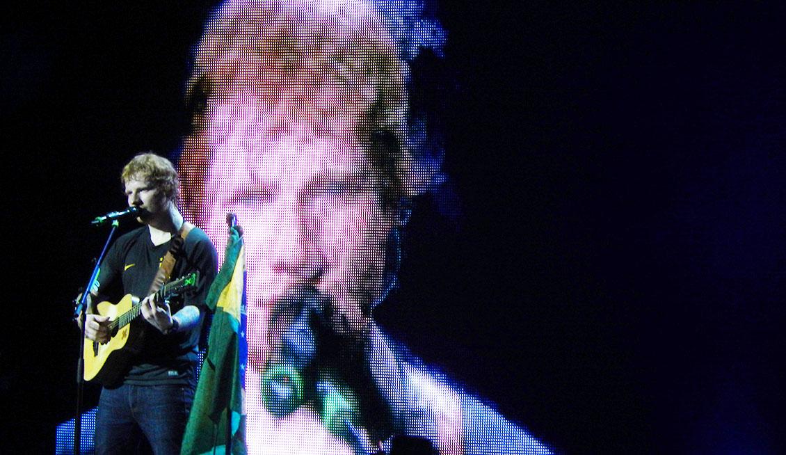 Ed Sheeran / Antonio Lulic – São Paulo. Pt III.
